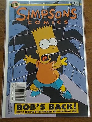 Simpsons Comics BONGO Group BART SIMPSON #2 COMIC BOB'S BACK