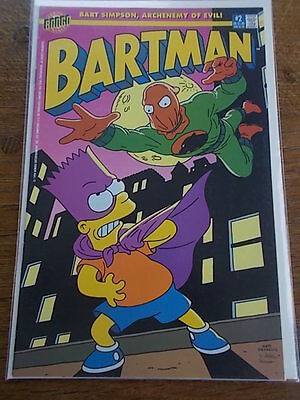 Number 2 BONGO Group Comics BART SIMPSON ARCHENEMY OF EVIL BARTMAN #2 COMIC No2