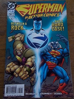 DC COMICS Warner Bros SUPERMAN IN ACTION COMIC #734 1997