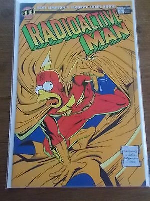 BONGO Group Comics BART SIMPSONS favourite Comic Magazine RADIOACTIVE MAN #1000