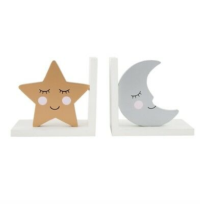 Sass & Belle Sweet Dreams Star & Moon Bookends