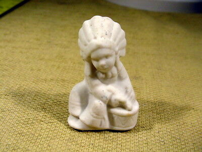 Excavated Vintage Snow Baby Santa Claus Dollhouse Size 1.7 Inch Age 1900 A 10868 German
