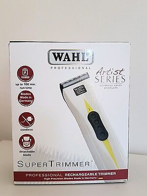 German Made Wahl Professional Super Hair Trimmer Cordless Artist Series