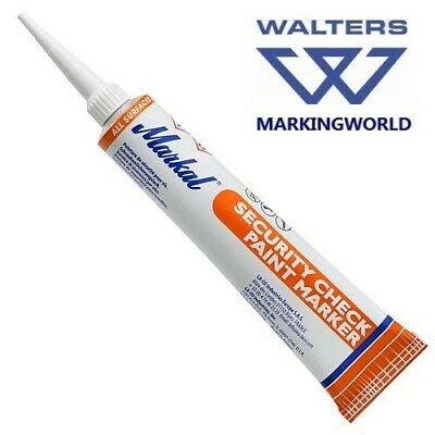 Markal Security Check Paint Markers for Tamper-Proof Marking - 50ml Tube
