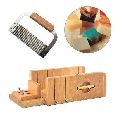 Wood Soap Mold Loaf Cutter Mold with 1pcs Wavy Straight Planer Cutting Tools Set