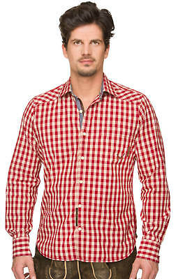 Traditional Shirt Tom Dark Red