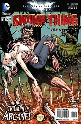 SWAMP THING ISSUE 11 - FIRST 1st PRINT - DC COMICS NEW 52 - SCOTT SNYDER BATMAN