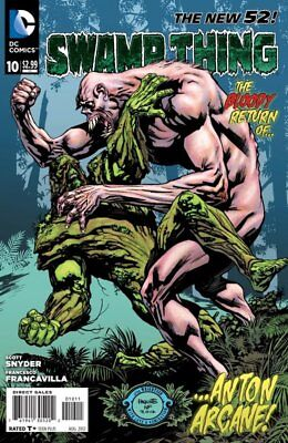 SWAMP THING ISSUE 10 - FIRST 1st PRINT - DC COMICS NEW 52 - SCOTT SNYDER BATMAN