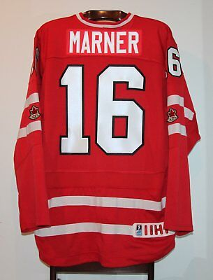 Nike Mitch Marner 2017 World Juniors Team Canada Hockey Jersey Size Adult Large