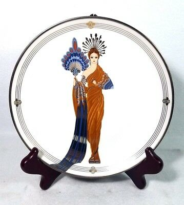 Franklin Mint House Of Erte Athena Plate Limited Edition
