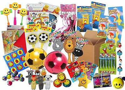300 childrens toys pta party prizes fundraising job lot school fete lucky dip