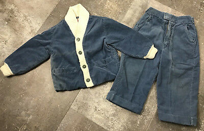 Vintage Toddler Clothing Danny Dare Corduroy Jacket and Pants Size 2T