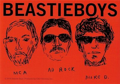 5615 Beastie Boys Sketch Art Rap MCA Mike D Ad Rock Music Band Sticker / Decal
