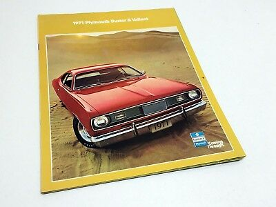 1971 Plymouth Duster & Valiant Brochure