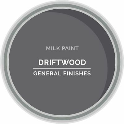 General Finishes Water Based Milk Paint, 1 Quart, Drift Wood