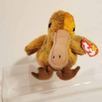 "Ty Beanie Baby ""Beak"" Retired 1998 Mint Condition w/ Hang Tag"