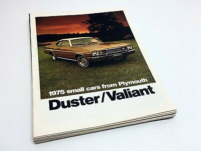 1975 Plymouth Duster Valiant Brochure