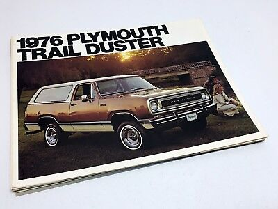 1976 Plymouth Trail Duster Brochure