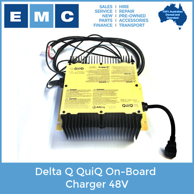 Delta Q QuiQ 1000 On-Board Programmable Charger 48V 13.5A