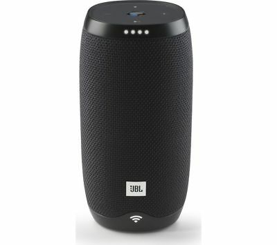 JBL Link10 Voice Activated Portable Wireless Bluetooth Smart Sound Speaker-Black