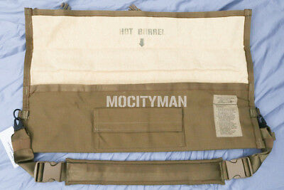 Military M249 Barrel Bag with Padded Strap Sling - Coyote - USA Made NEW in Pack