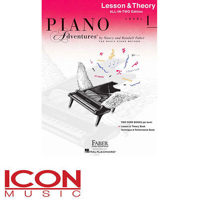 Piano Adventures All-in-Two Level 1 Lesson and Theory Book