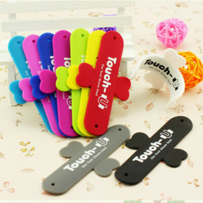 Silicone Mini Cellphone U Shaped Stand Holder For Mobile Phone Universal