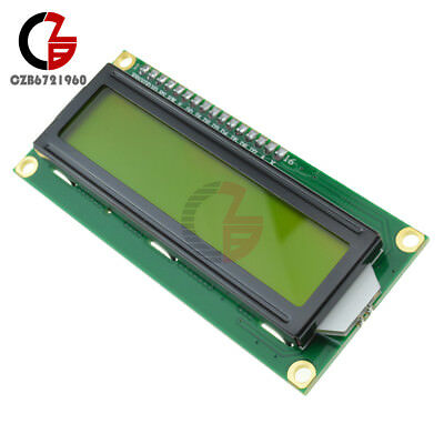 10PCS 1602 16x2 HD44780 Character LCD Display Module LCM Yellow Backlight NEW