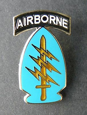 Us Army Airborne Special Forces Lapel Hat Pin Badge 1.2 Inches