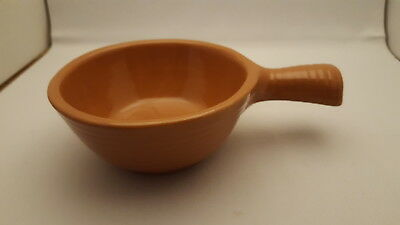 Vintage Heinz Pottery By Western Monmouth Pottery Handled Soup Bowl