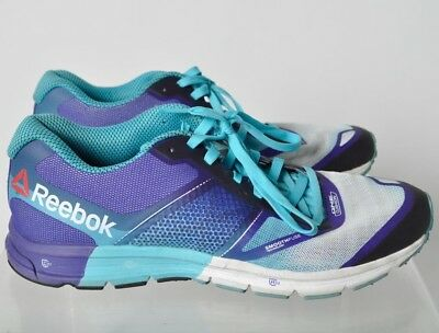 438ec762666 Reebok Women s One Cushion 2.0 Purple Blue White Running Shoes Sneakers Sz  10.5