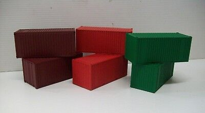 Frateschi 6 Ho 20' Shipping Containers