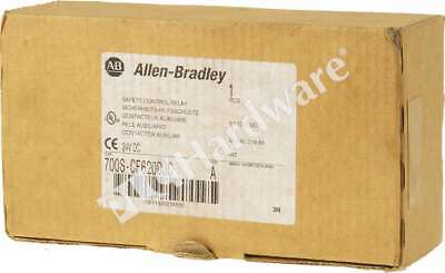 New Allen Bradley 700S-CF620DJC /A Safety Control Relay 8P 3NO 1NC 24V DC