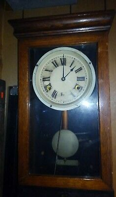 Antique/Vintage International Time Recording Company Oak Time Clock