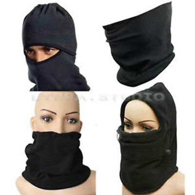 Fleece Winter Thermal Balaclava Swat Ski Motorcycle Bike Face Mask Hood Hat Cap