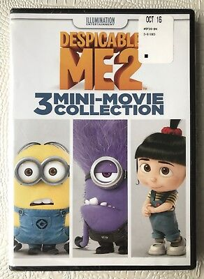 Despicable Me 2/3 Mini Movies (DVD, 2015) Sealed