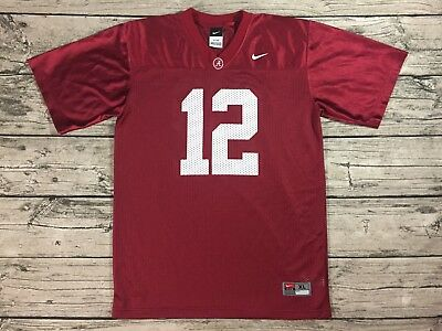 quality design 68300 37f6d NIKE ALABAMA CRIMSON Tide Jersey Youth XL #12 Joe Namath