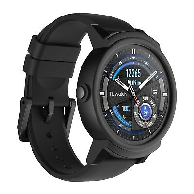 Ticwatch E most comfortable Smartwatch-Shadow,1.4 inch OLED Display, Android ...