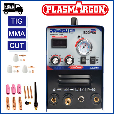 HQ 520TSC 3IN1 Portable NEW Multifunction MMA/TIG/CUT Welding Machine 110V/220V