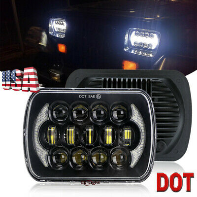 Newest Brightest 105w 7x6 5x7 Led Headlight Drl For Chevrolet Jeep