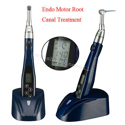 Compact Dental Mini 16:1 Reduction Contra Angle Endo Motor Root Canal Treatment
