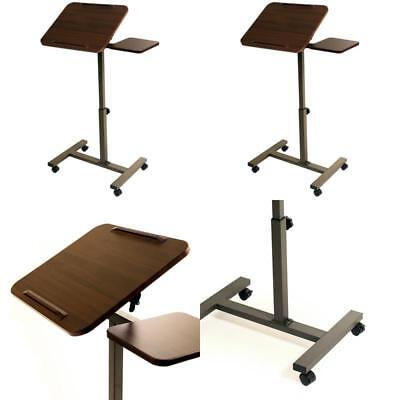 Desk Sit Stand Portable Adjustable Rolling Pulpit Podium Church Presentation New