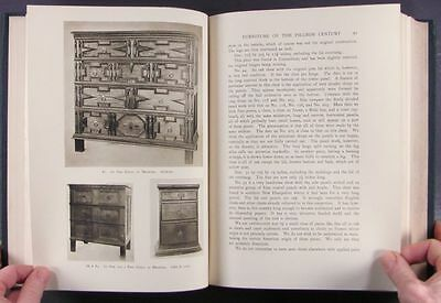 Antique American Colonial 17th Century Furniture -A Wallace Nutting 1924 Classic