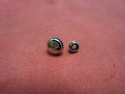 Rolex Crown SS & Tube 6mm Ref. 1500, 1601, 1600, 16234, 1603, 1501 and others