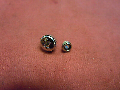 Rolex Crown SS & Tube 7mm