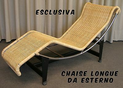 CHAISELONGUE COMPLETA IN MIDOLLINO - Made in Italy