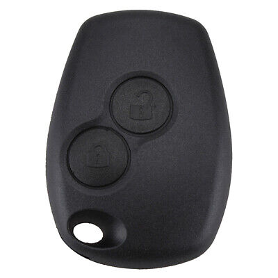 2BTNS Remote Key Fob Case Shell fit for Renault Clio III Kangoo II Master Modus
