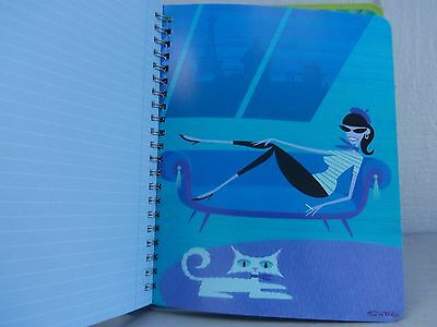 Josh Agle Shags Jive Journal Art Work & Pages To Let Your Pen Run Wild, Cute Art