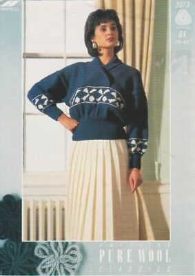 vintage knitting pattern womans
