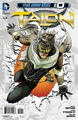 TALON ISSUE 0 ZERO - FIRST 1st PRINT - SCOTT SNYDER BATMAN - DC COMICS NEW 52